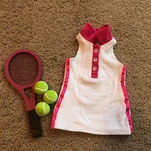 American Girl tennis set